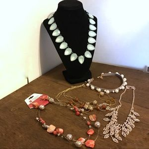 Charming Charlie Lot Of 5 Necklaces